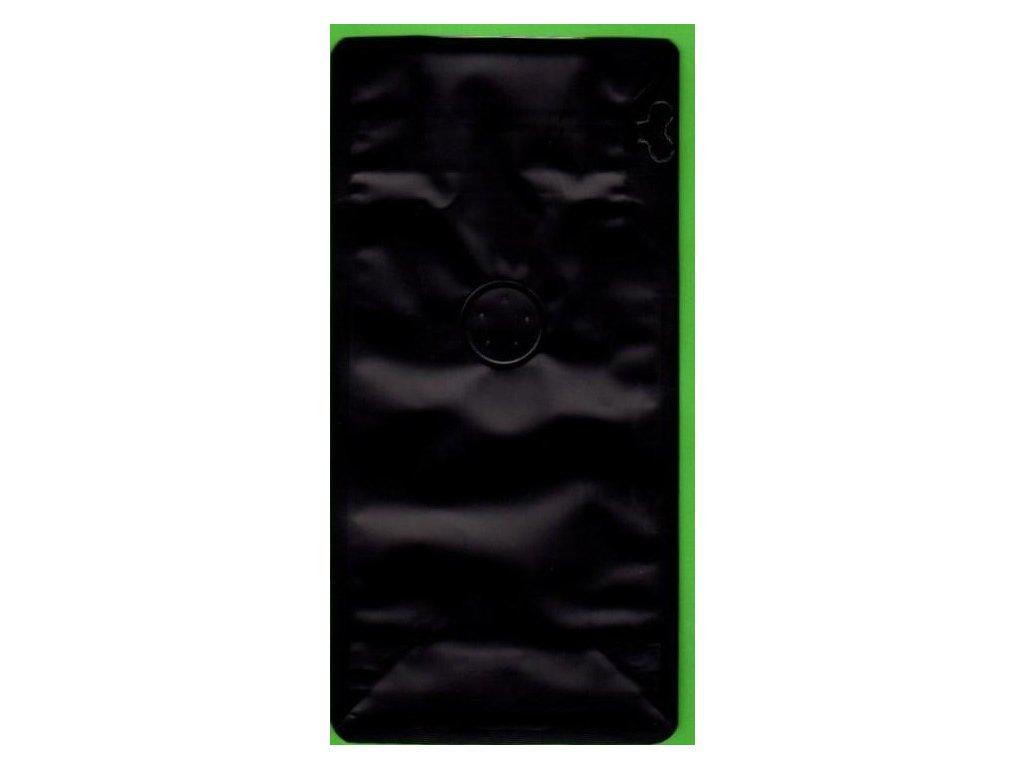 Vrecká na kávu čierne zip + ventil 125 g
