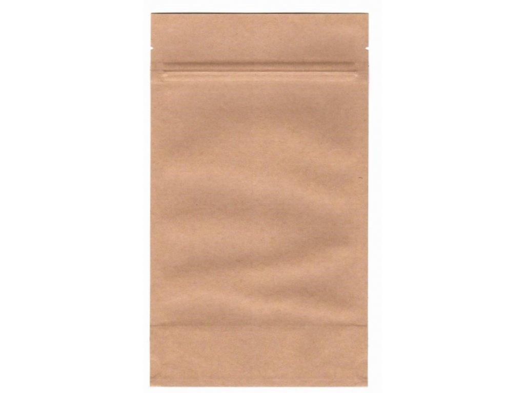 Vrecká na kávu hnedé zip 250 g