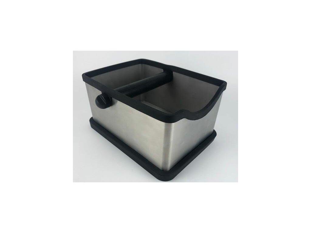 AVX vyklepávač na kávu z nehrdzavej ocele