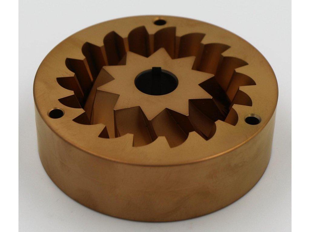Mlecie kamene SSP 83mm Conical 3phase RoburRed Speed coated