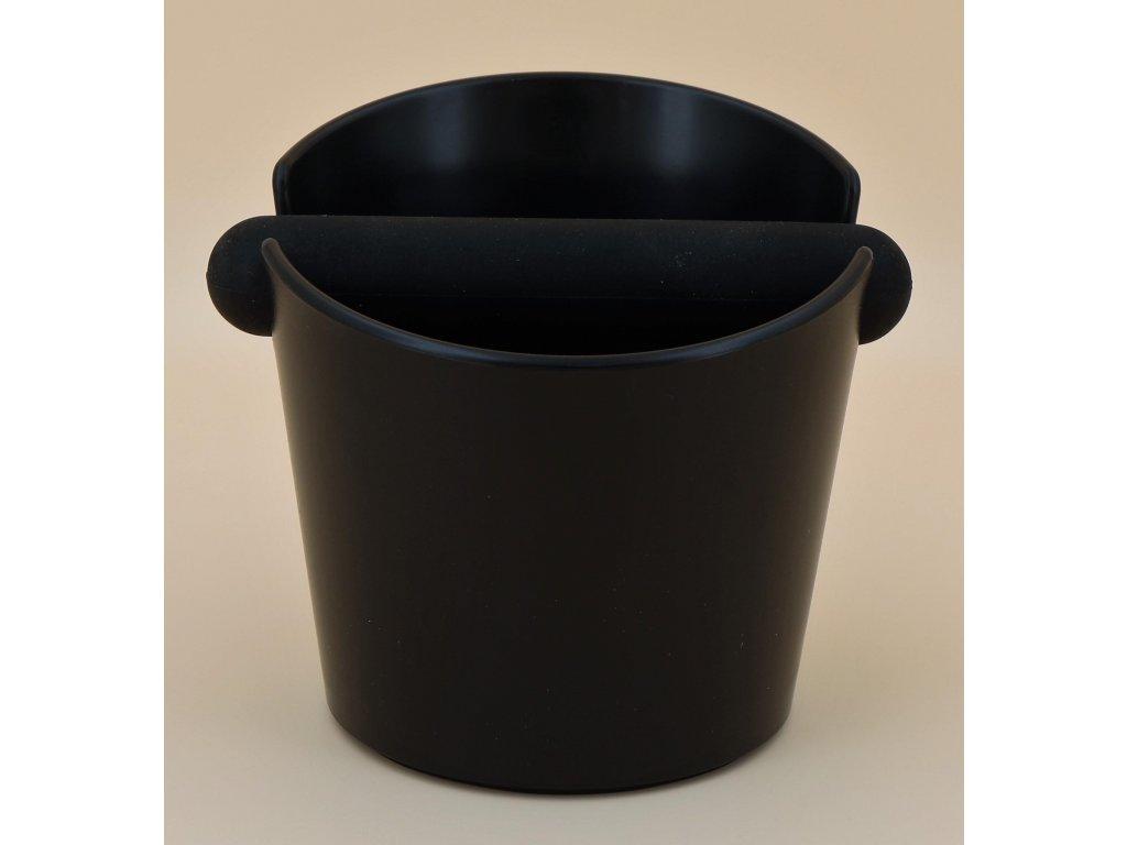 AVX umelohmotný čierny vyklepávač kávy ZH6