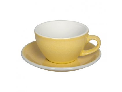 Loveramics Egg Cappuccino 200 ml Cup and Saucer Butter Cup1