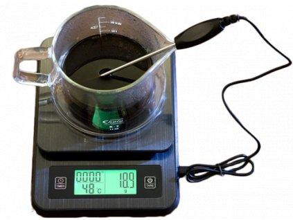 AVX PRO+ digitálna váha s časovačom a teplomerom 3000g