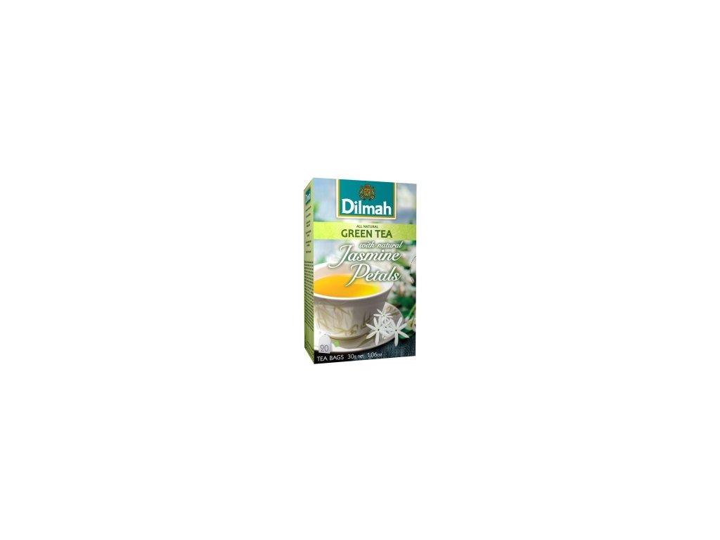 Dilmah zelený čaj s jasmínem 20 ks
