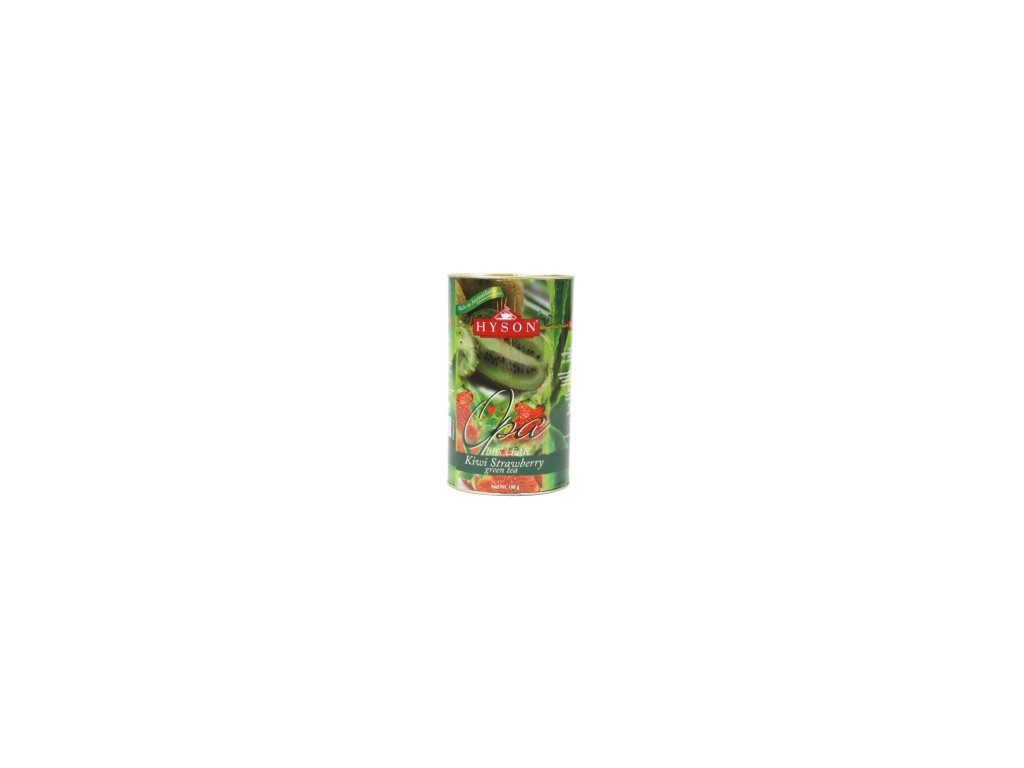 Hyson zelený čaj Jahoda s kiwi 100g