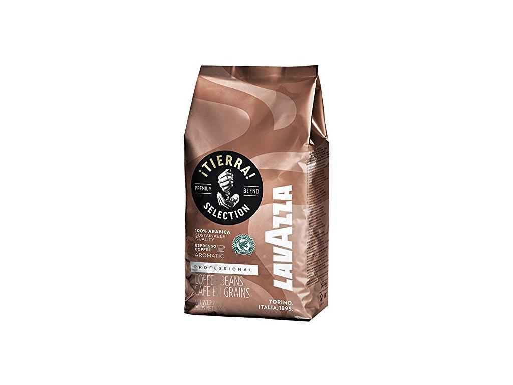 kava lavazza tierra zrnkova
