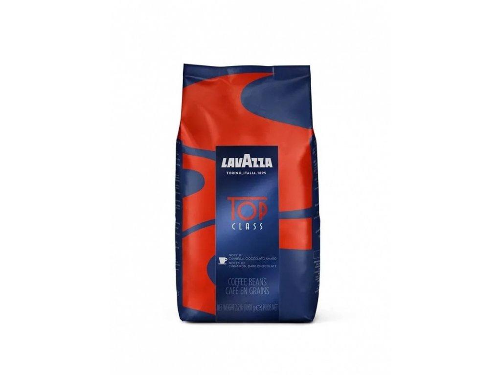 kava lavazza top class zrnkova