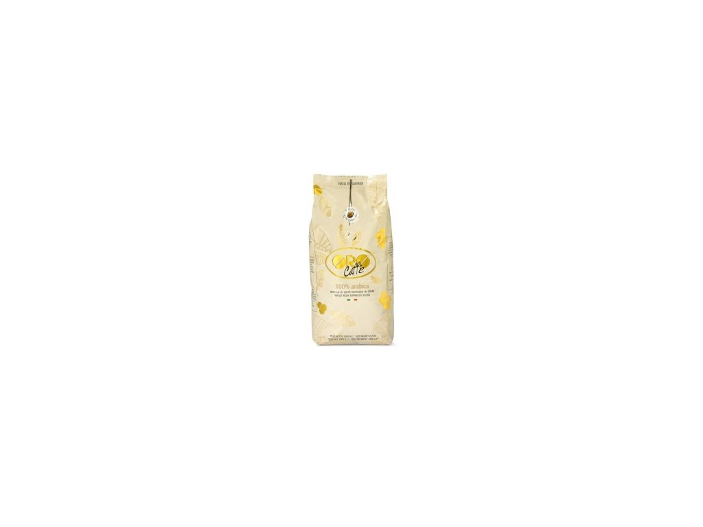 Káva ORO Caffe 100% Arabica zrnková 1 kg