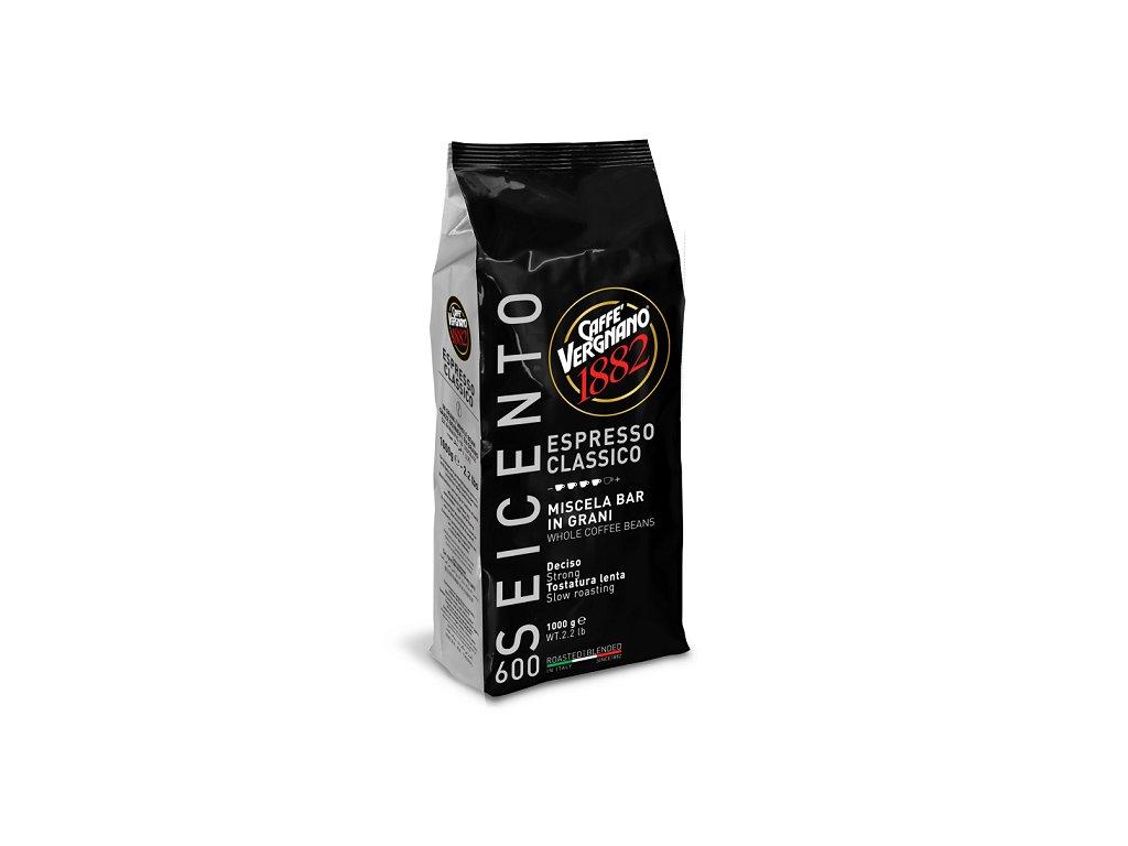 vergnano zrnkova kava 600