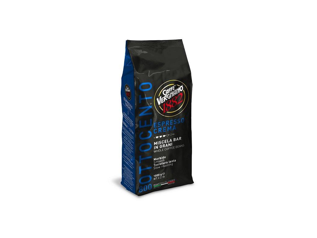 vergnano zrnkova kava 800