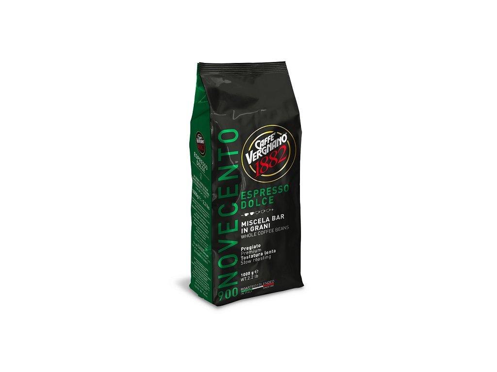 vergnano zrnkova kava 900