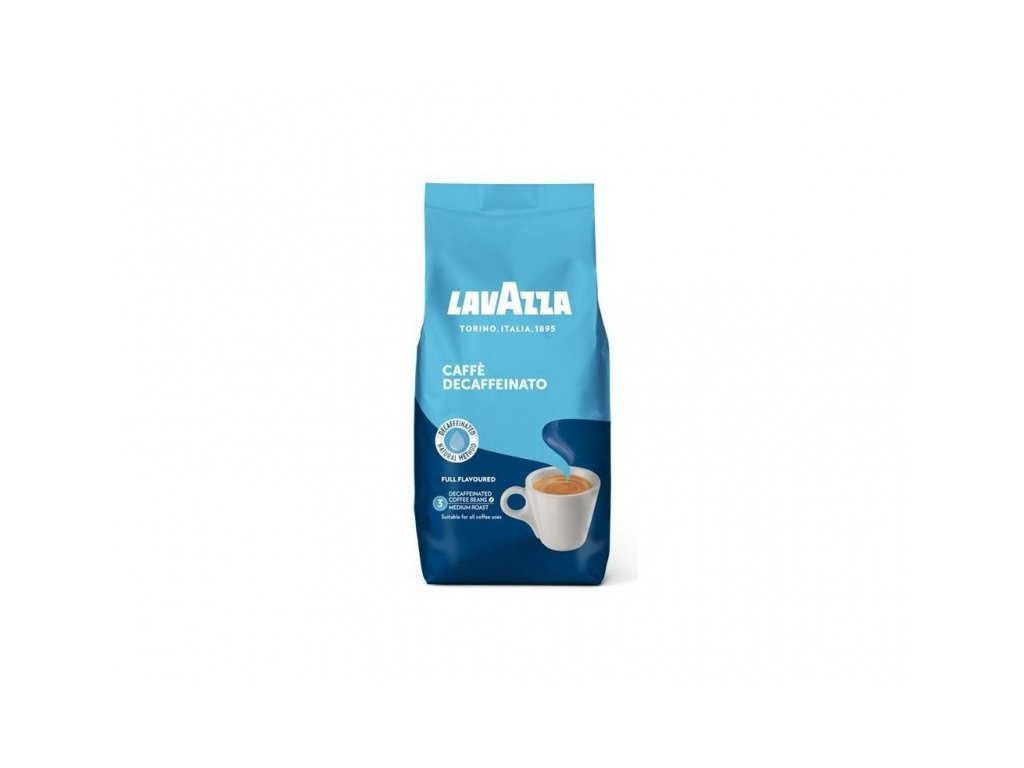 kava lavazza caffe crema decaffeinato bez kofeinu zrnkova