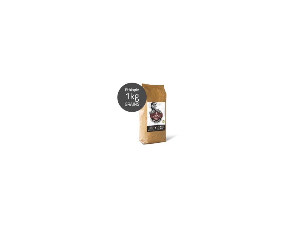 Lobodis Langani Moka Etiopie zrnková káva 1kg