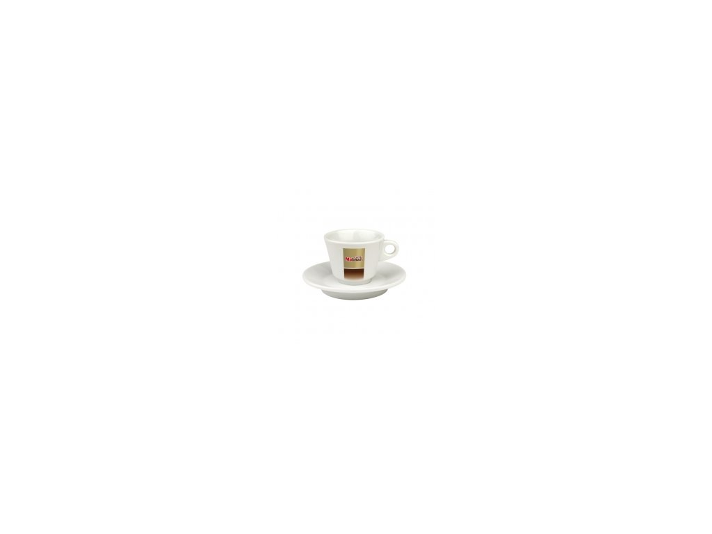 Molinari šálek cappuccino s podšálkem 1 ks