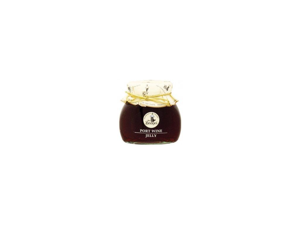 Mrs.Bridges - hroznové želé z Portského vína 250 g