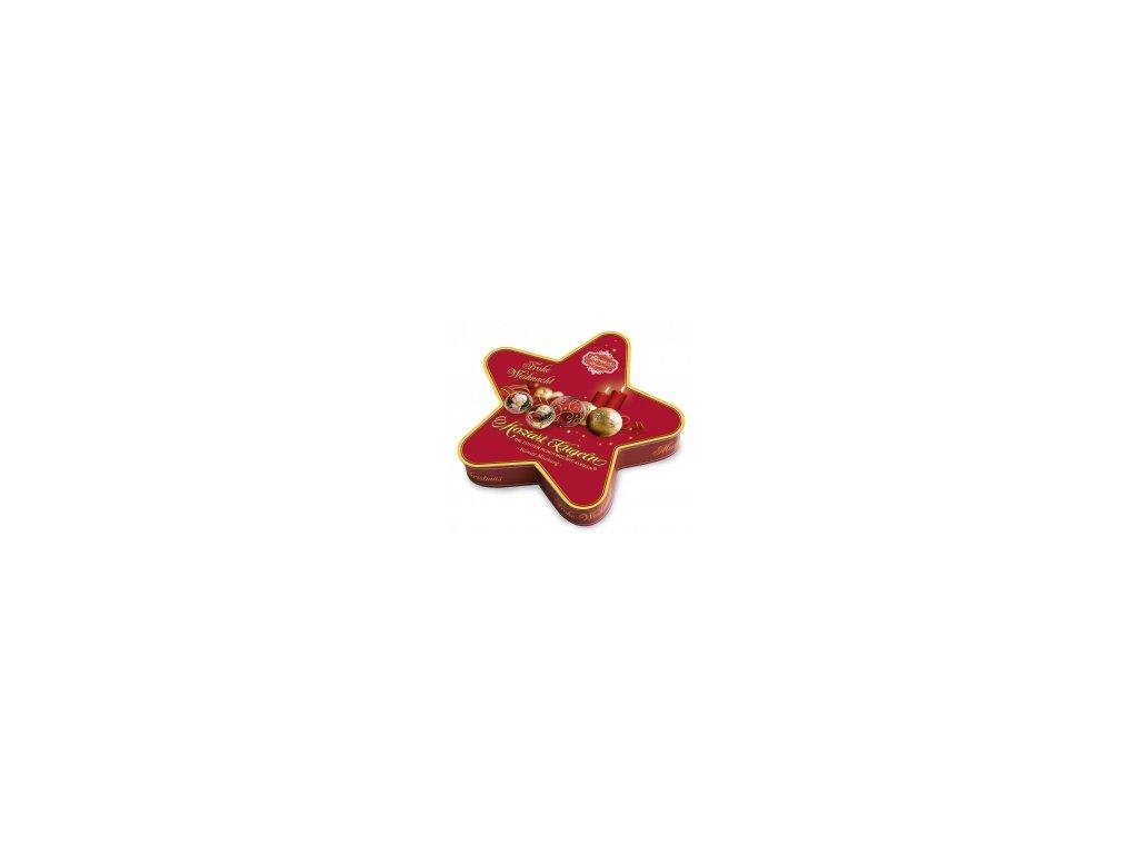 REBER MOZARTOVY KOULE vánoční hvězda 240g