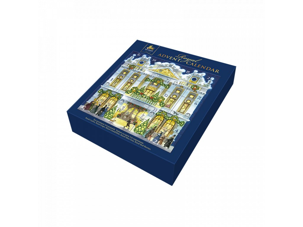 richard royal tea collection adventni kalendar