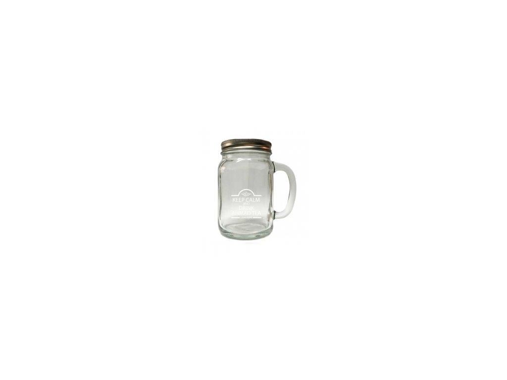 Ahmad Tea London retro sklenice na ledový čaj