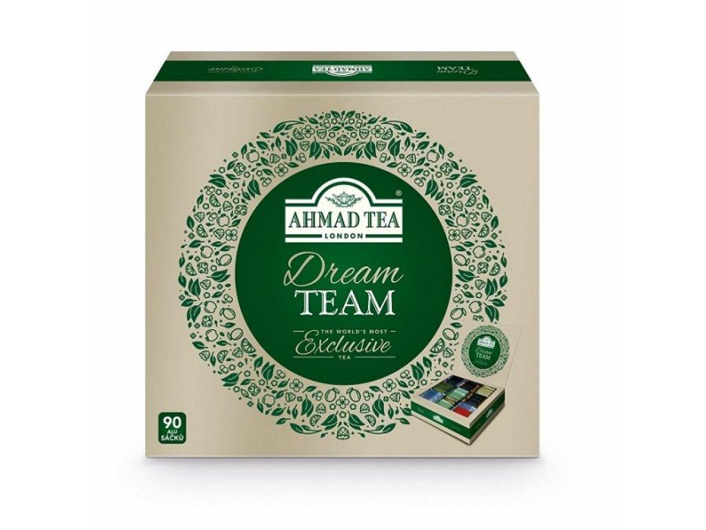 Čaj AHMAD TEA LONDON  čajový výběr DREAM TEAM 90 ks
