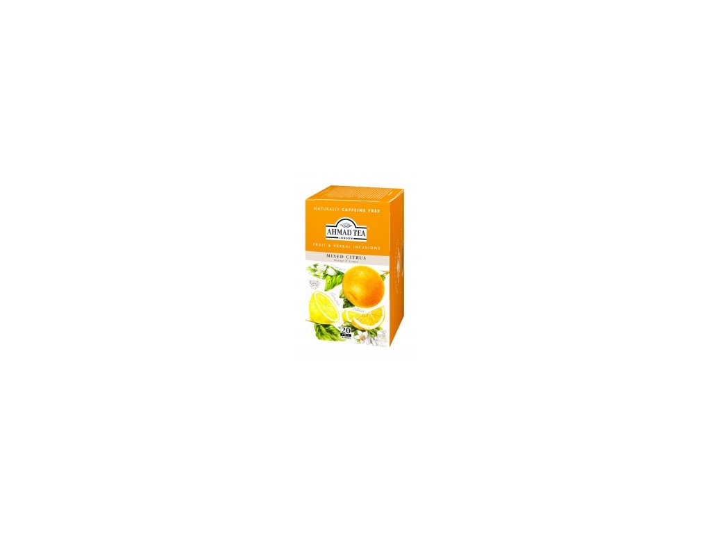 Čaj AHMAD TEA LONDON - Citrusové plody- porcovaný 20 ks