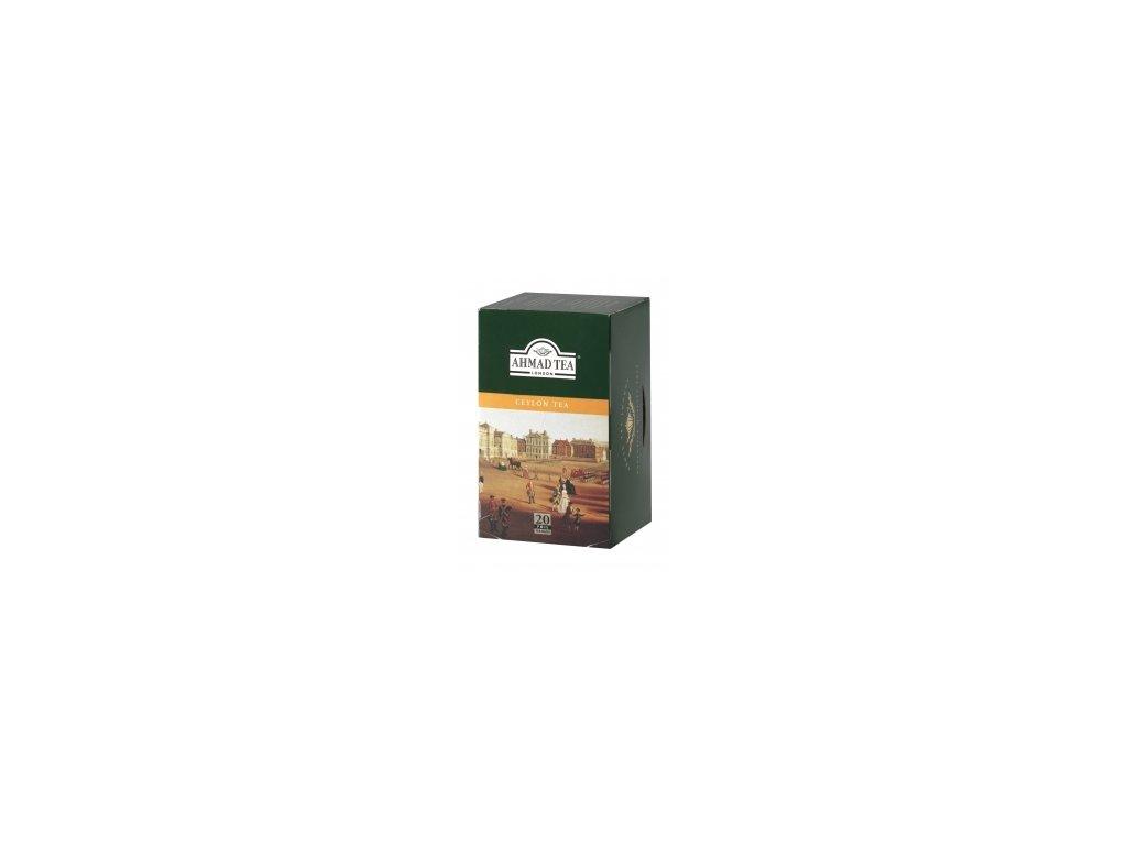 Čaj AHMAD TEA LONDON - černý čaj CEYLON - porcovaný 20 ks