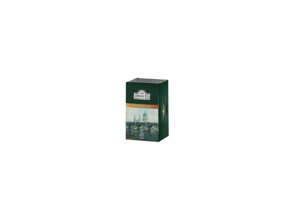 Čaj AHMAD TEA LONDON - černý čaj DARJEELING- porcovaný 20 ks