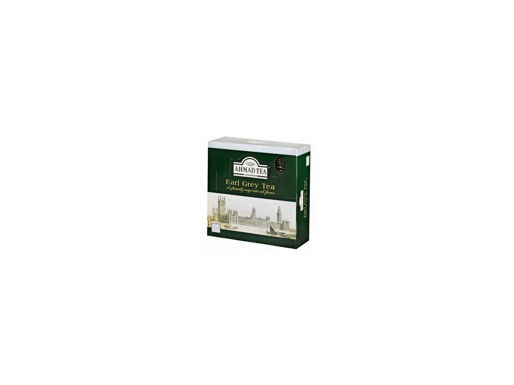 Čaj AHMAD TEA LONDON - Earl Grey porcovaný 100 ks