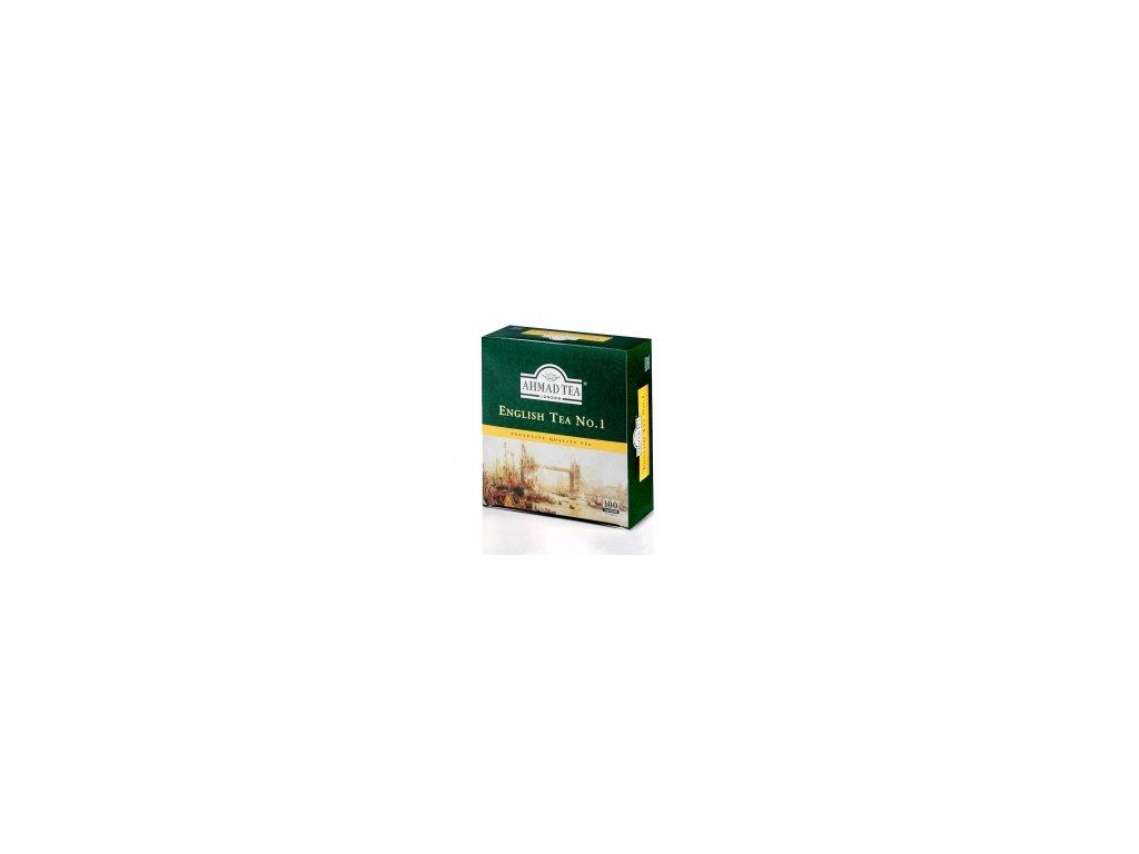 Čaj AHMAD TEA LONDON - English Tea No.I.  porcovaný 100 ks