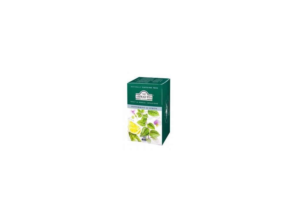 Čaj AHMAD TEA LONDON - Máta s citronem- porcovaný 20 ks