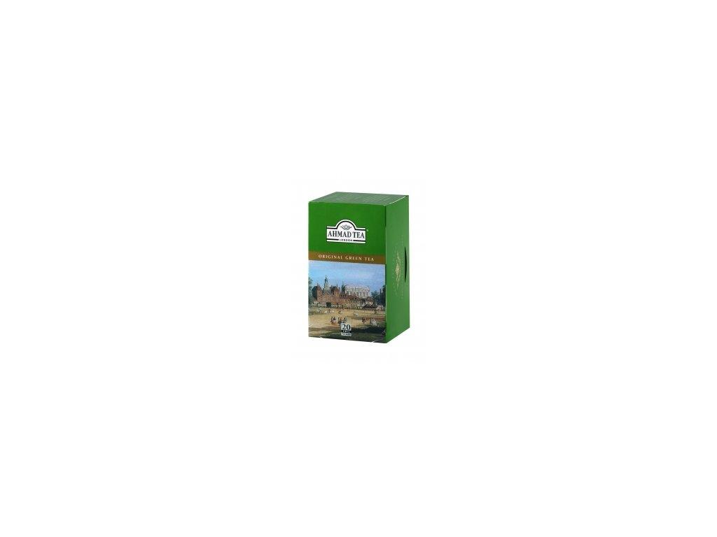 Čaj AHMAD TEA LONDON - zelený čaj- porcovaný 20 ks
