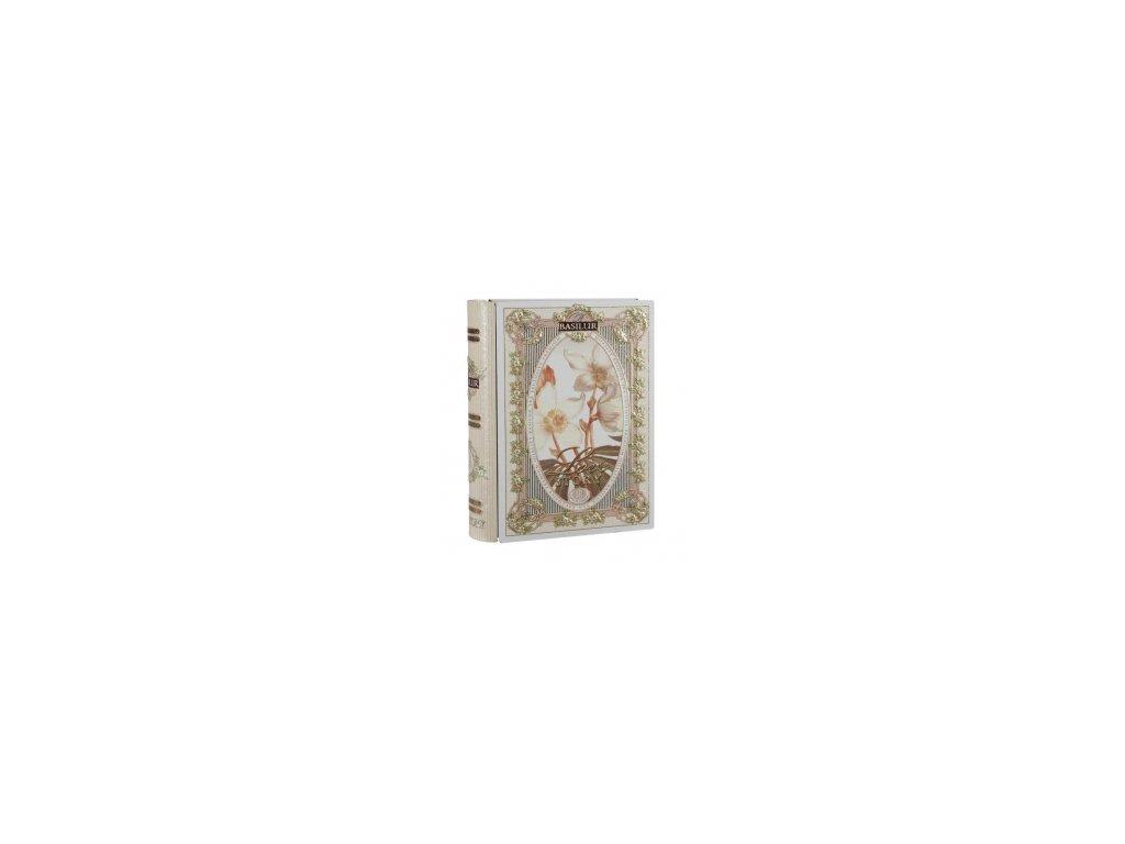 Čaj Basilur - dárková kniha -sypaný čaj zelený 100g
