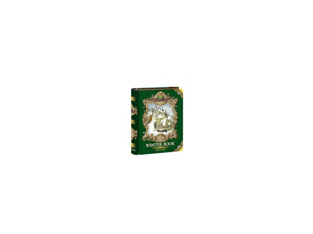 Čaj BASILUR - vánoční zelená kniha -sypaný čaj 100g