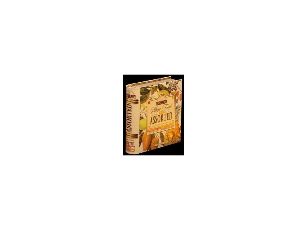 Čaj Basilur Kniha - dárkové balení černý čaj porcovaný 32 ks