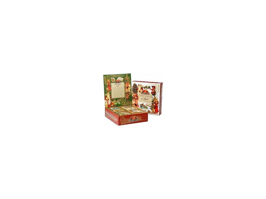 Čaj Basilur Vintage dárkové balení 40 ks