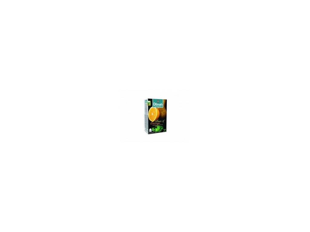 Čaj Dilmah  černý čaj s hruškou a pomerančem 20 ks