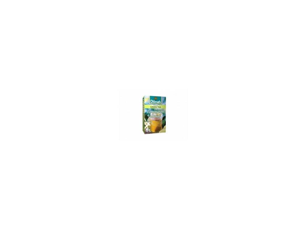 Čaj Dilmah - zelený čaj s citronem a citronovou trávou 20 ks