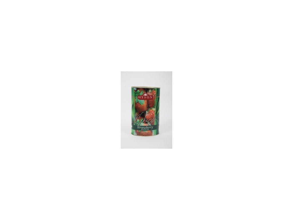 Čaj Hyson zelený Jahoda -sypaný 100g