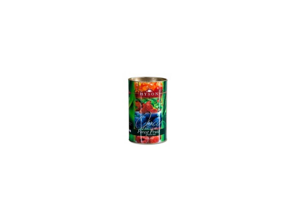 Čaj Hyson zelený Lesní ovoce -sypaný 100g
