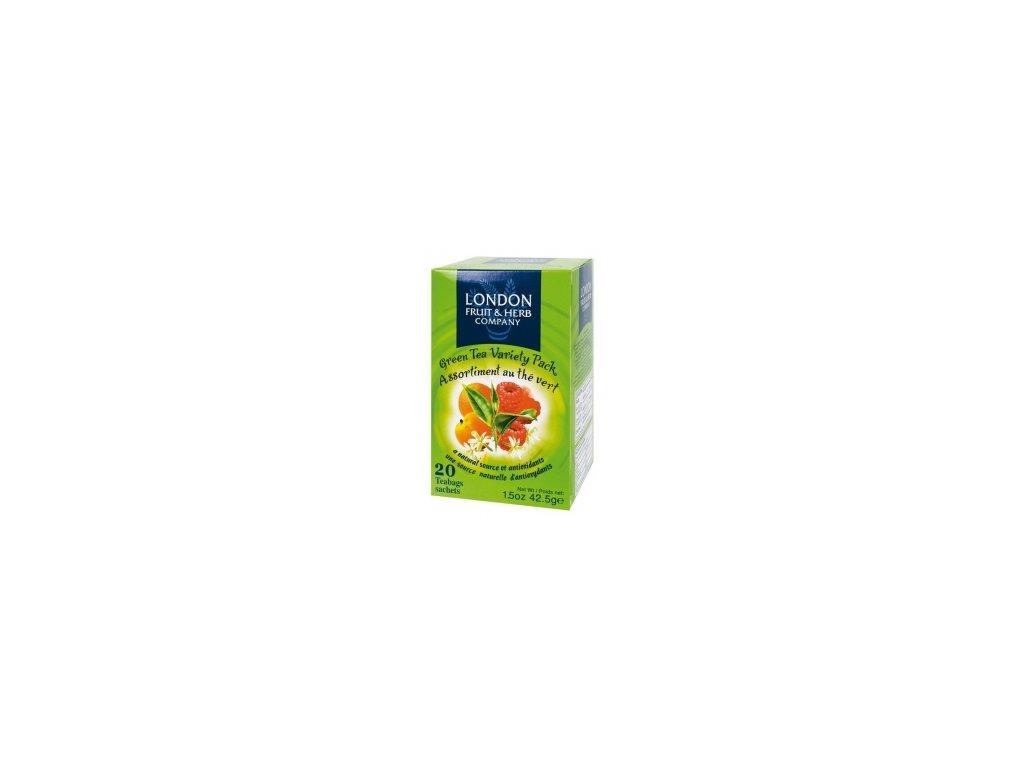 ČAJ LONDON FRUIT&HERB - zelený čaj variace porcovaný 20 sáčků