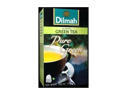 Dilmah zelený čaj čistý 20 ks