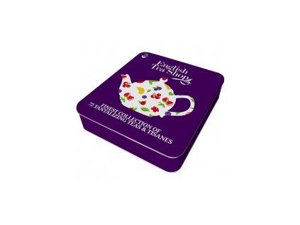 English Tea Shop dárková plechová dóza superovocné čaje 72 ks