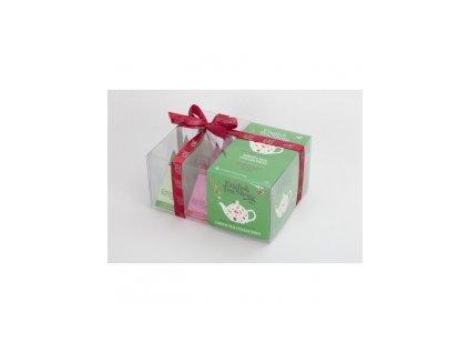 English Tea Shop dárkové balení zeleného čaje 12 ks pyramidek