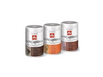 Káva illy - MONOARABICA Brazílie zrnková 250g