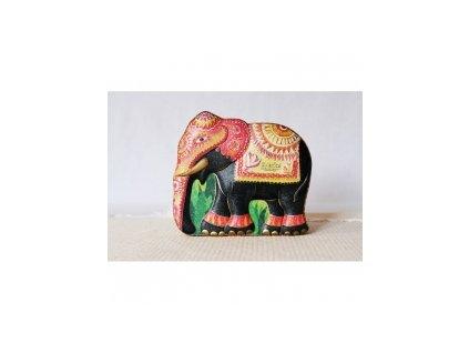 Zylanica Dárkový slon žlutý 100g čaje + 15 ks pyramidek