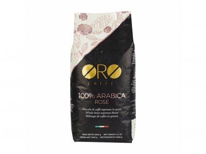 kava oro rose 100 % arabica zrnkova