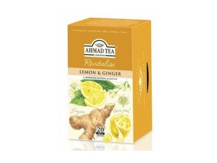 Čaj AHMAD TEA LONDON - Citron se zázvorem - porcovaný 20 ks