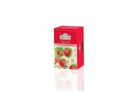 Čaj AHMAD TEA LONDON - Lesní jahoda- porcovaný 20 ks