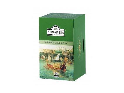 Čaj AHMAD TEA LONDON - zelený čaj s jasmínem- porcovaný 20 ks