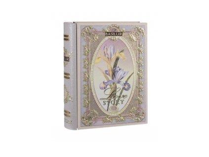 Čaj Basilur - dárková kniha - směs zeleného a černého sypaného čaje 100g