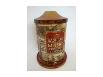 Čaj Basilur Music Concert London sypaný černý čaj 100g